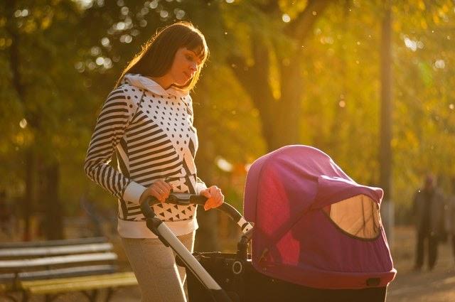 spacer z dzieckiem